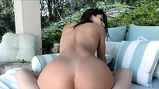 Tight Latin Outdoor Arse Screw