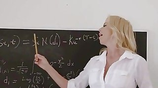 Horny teacher is paid in..