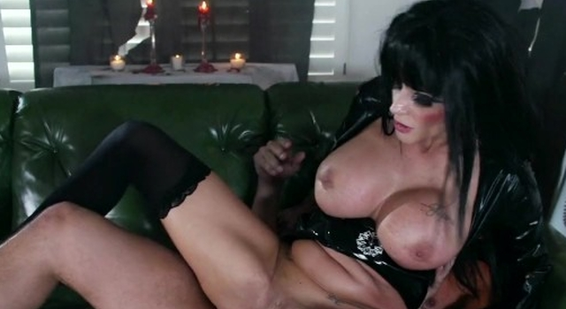 Joslyn James loves to be..