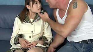 Hot lil' japanese girl on..