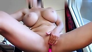 Horny blonde mummy gives..