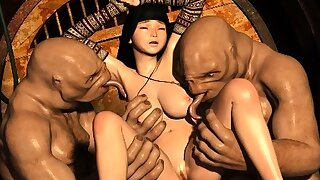 3D Slave Girls Ravaged by..