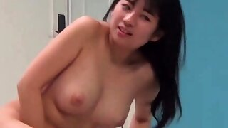 Busty Japanese Girl Takes a..